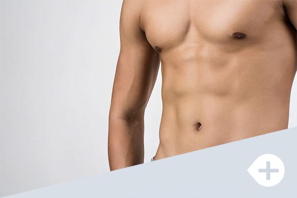 cirugía masculina ginecomastia